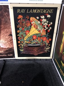 Ray LaMontagne poster illustration printed on large format
